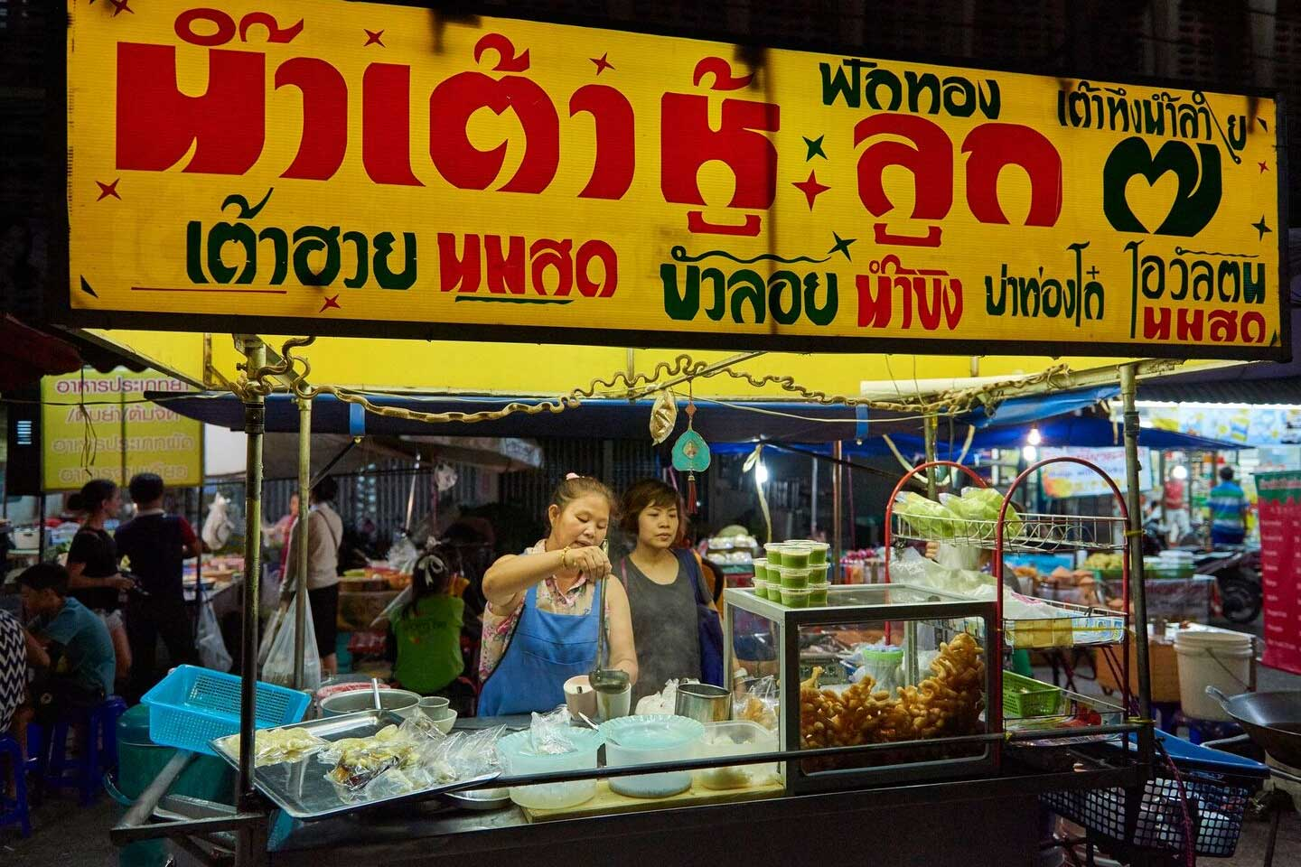 The History of Thai Street Food
